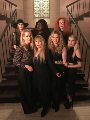 Las brujas de 'American Horror Story: Apocalypse'.rn
