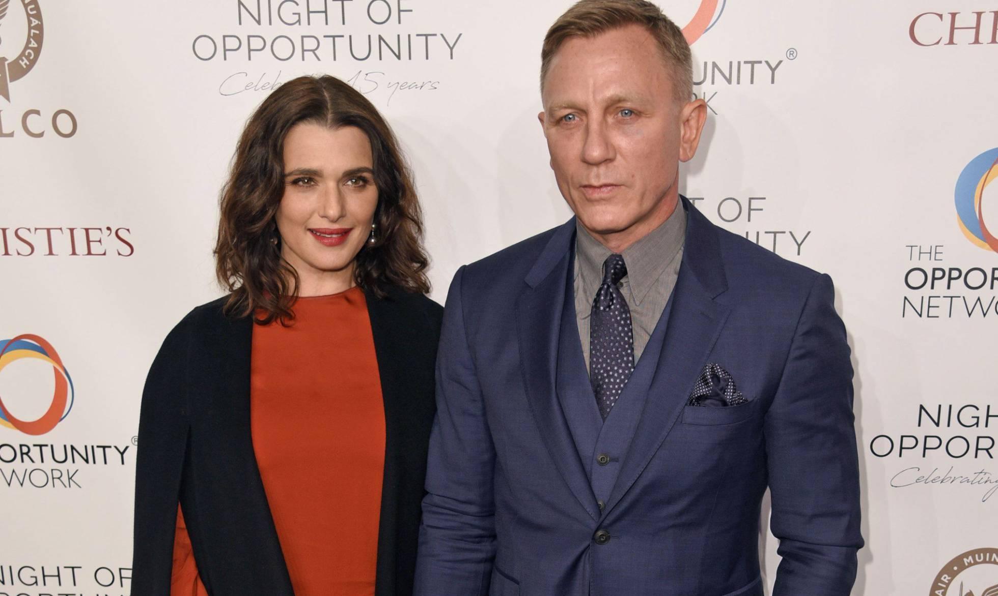Rachel Weisz y Daniel Craig, un matrimonio obsesionado con la discreción