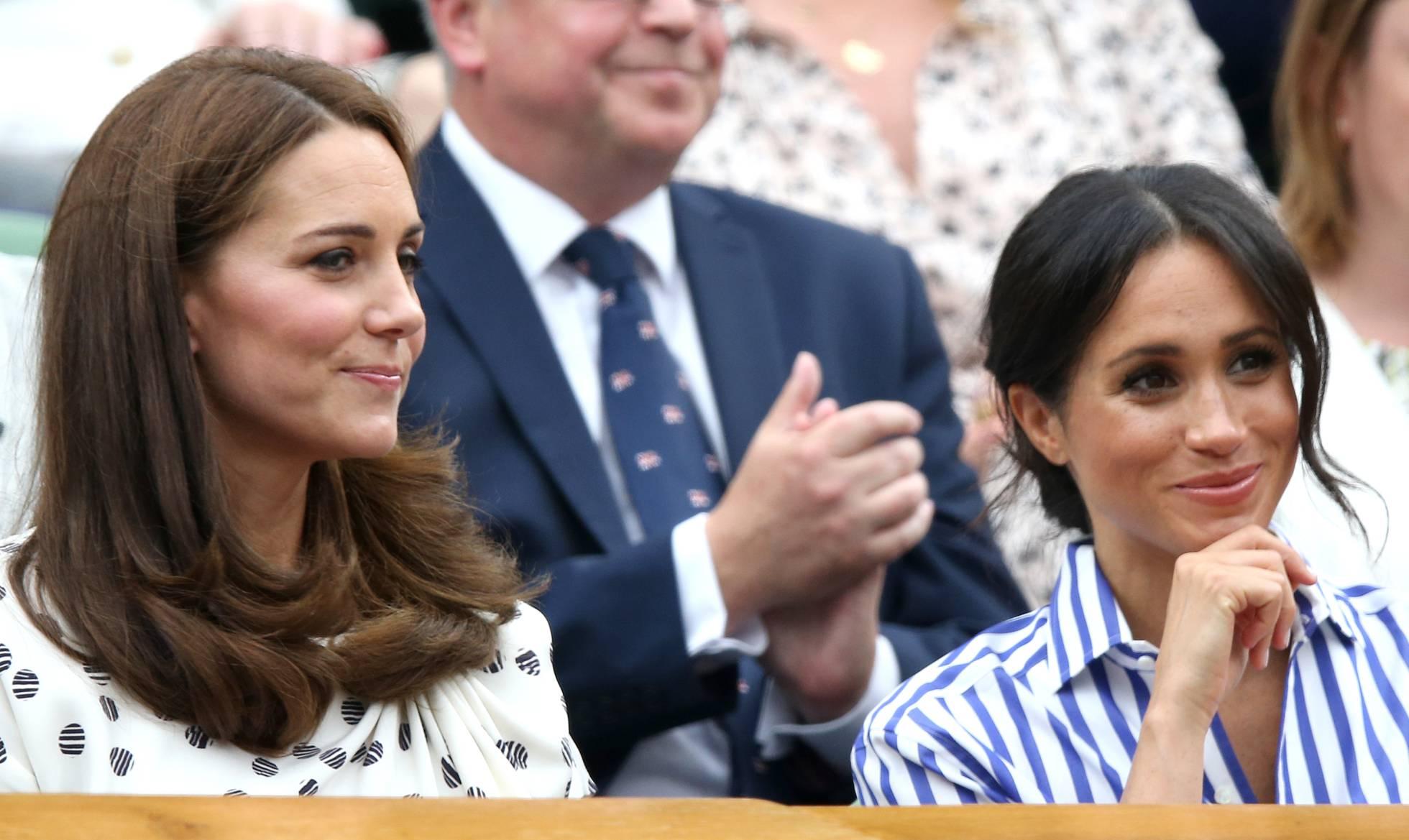 La razón del enfado entre Meghan Markle y Kate Middleton