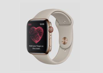 apple watch se queda en la manzana
