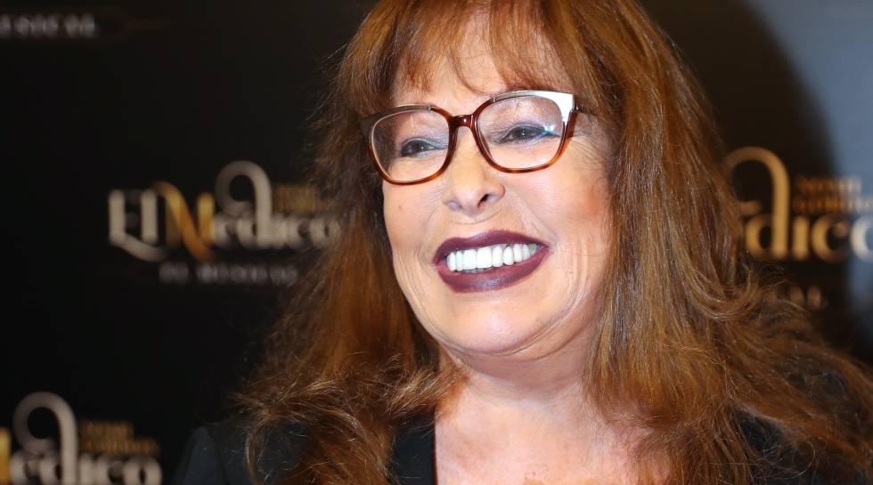 La cantante Massiel en octubre pasado.