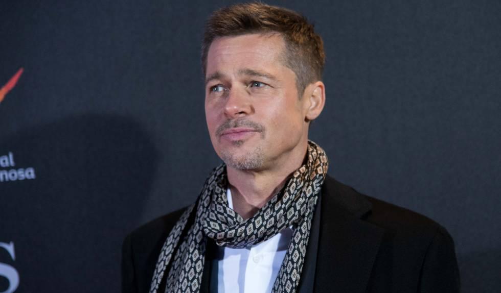 Brad Pitt attends, en el estreno de 'Aliados' en madrid, en 2016.