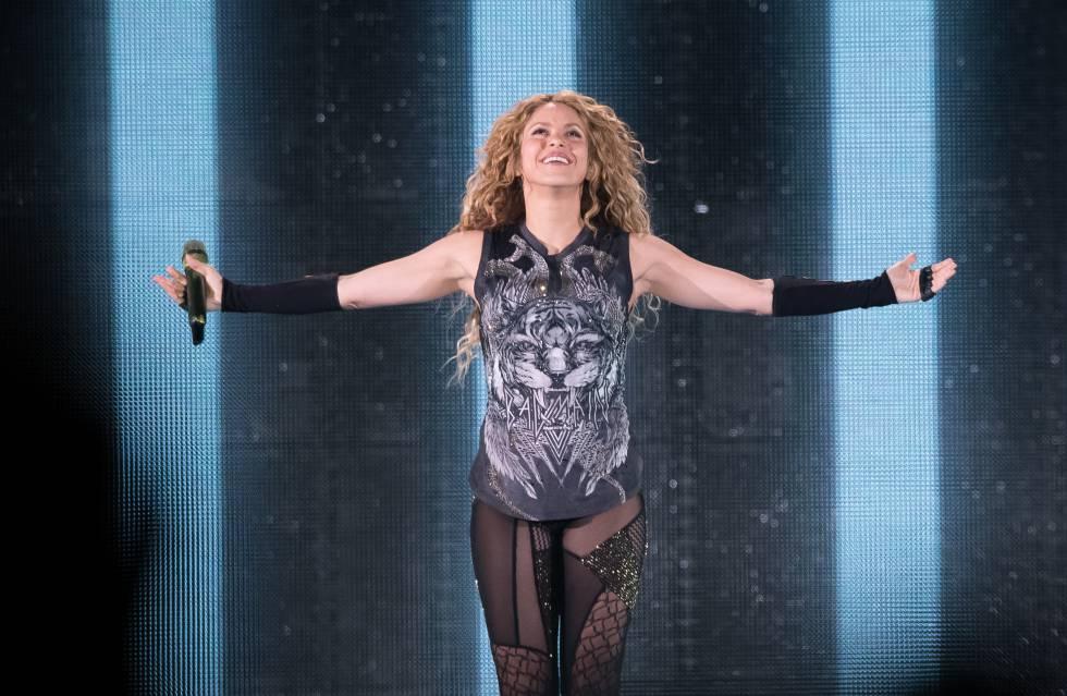 Shakira en el Madison Square Garden de Nueva York el 10 de agosto pasado.