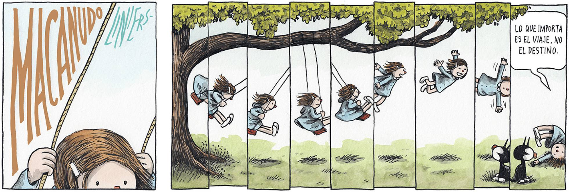 Liniers, en El País Semanal, 30/12/2018