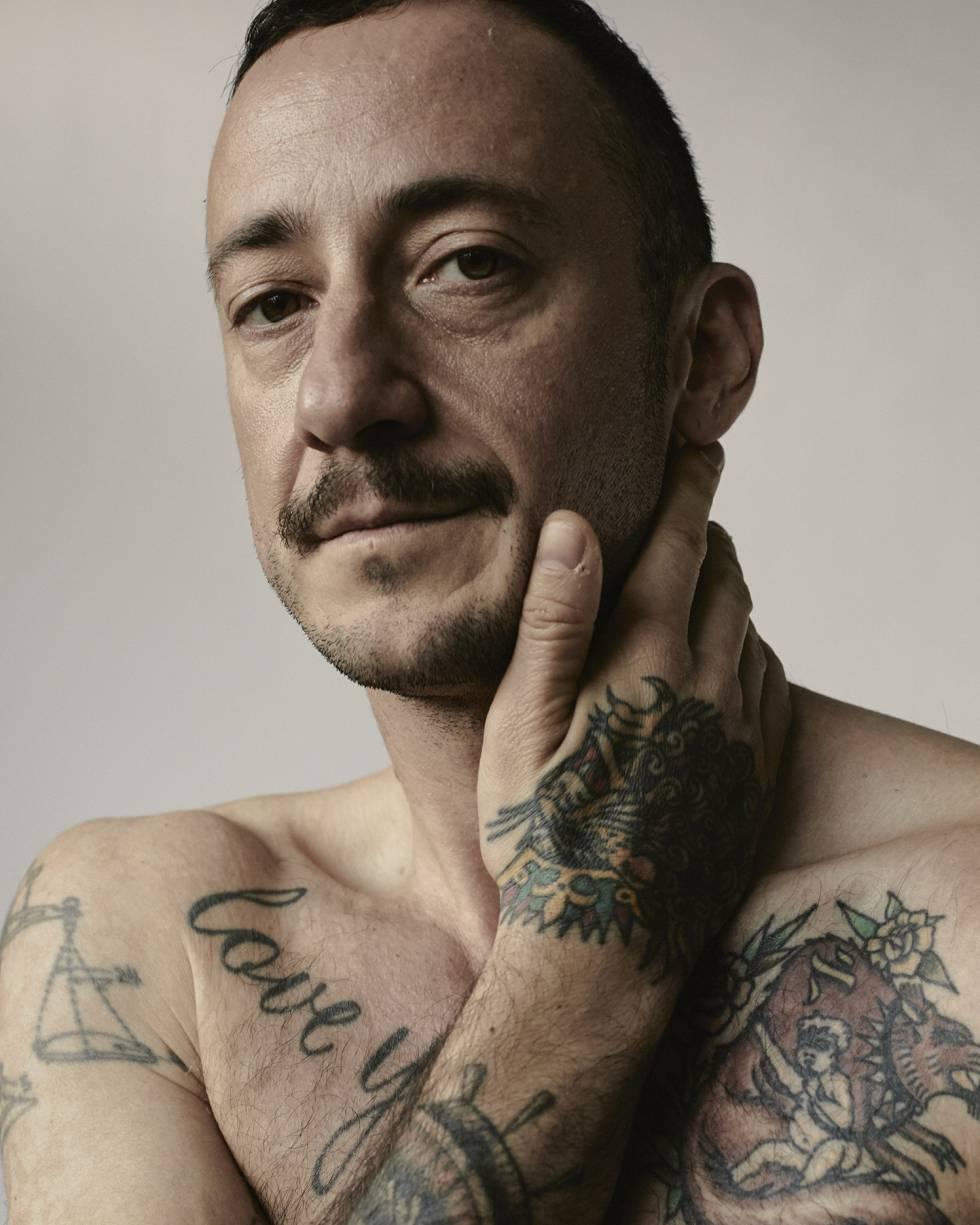 Un hombre 'trans' sobre el cuadrilátero