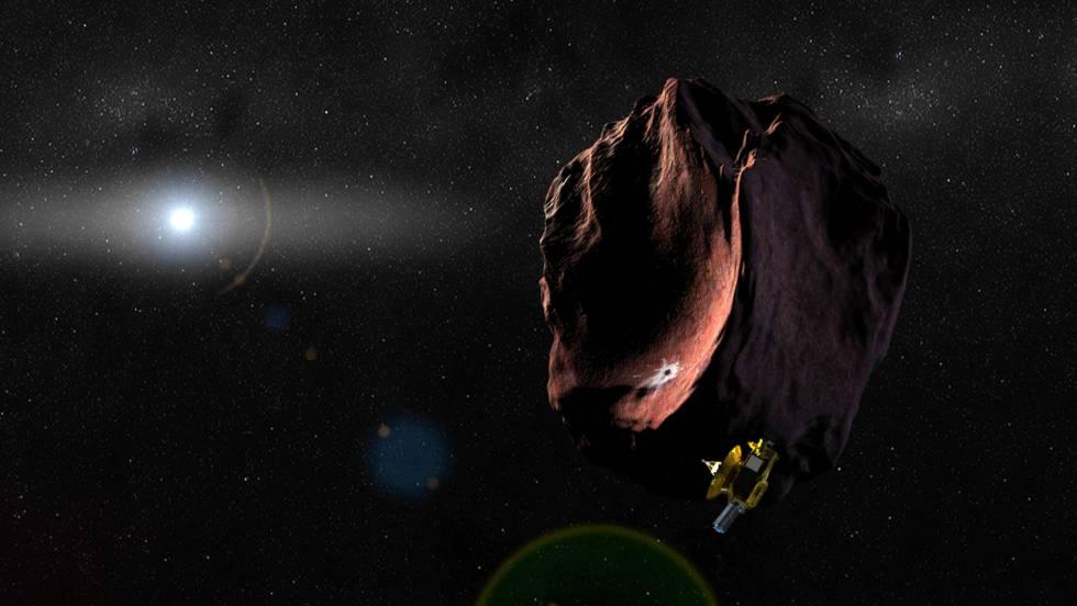 Una nave sobrevuela por primera vez el mundo más lejano del sistema solar que se ha visitado