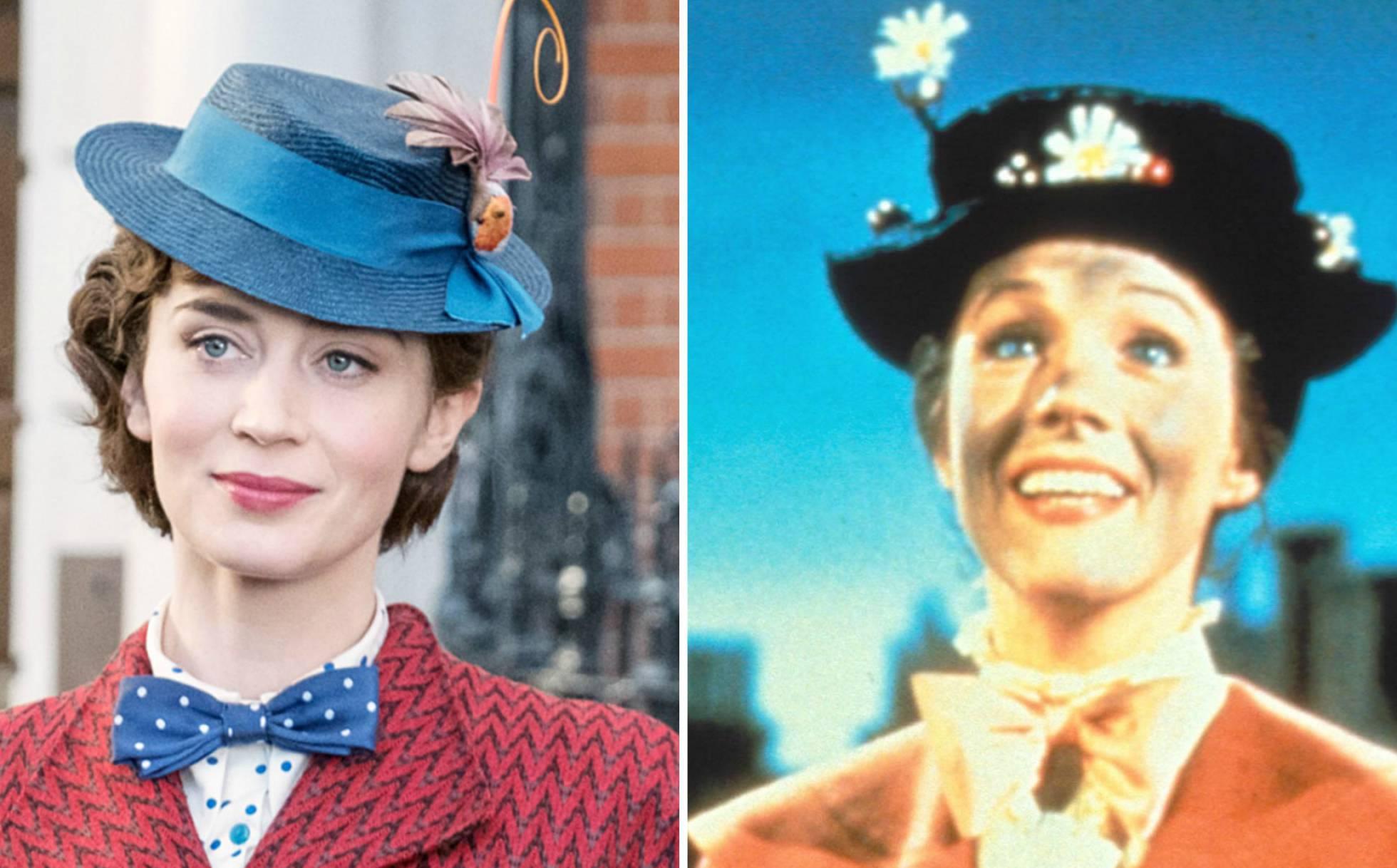 Emily Blunt o Julie Andrews, ¿quién es la mejor Mary Poppins?