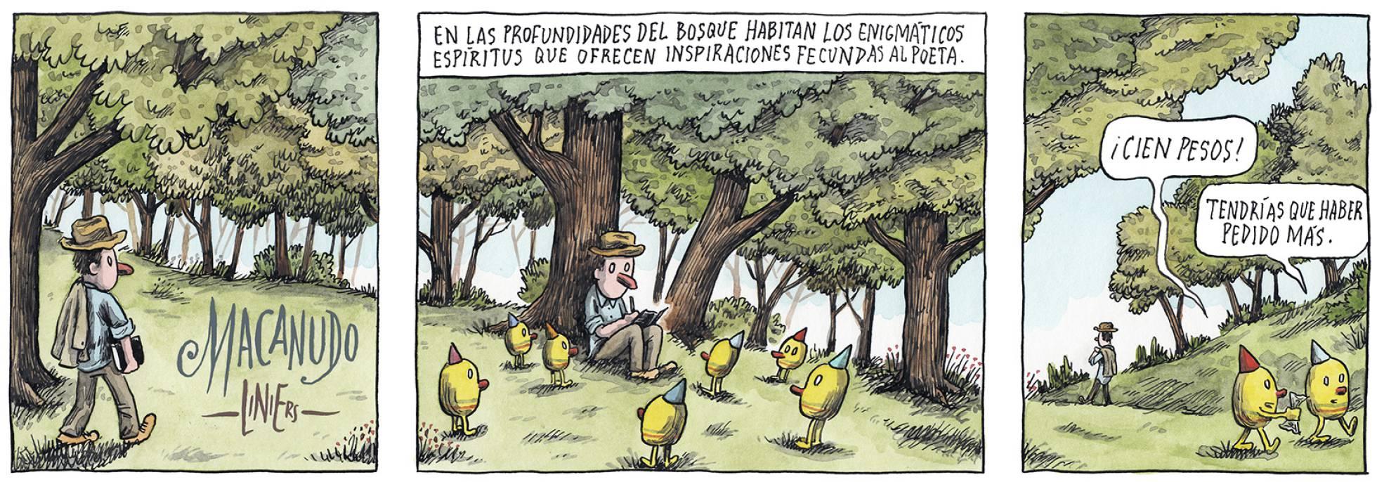 Liniers, en El País Semanal, 20/01/2019