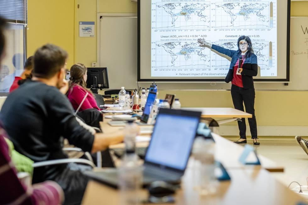Enza Di Tomaso, investogadora del Centro Nacional de Supercomputación de Barcelona.