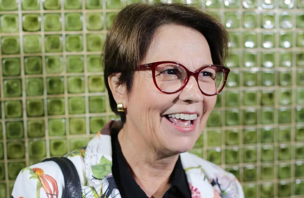 La ministra brasileña de Agricultura y Medio Ambiente, Tereza Cristina Dias, el 8 de noviembre en Brasilia.