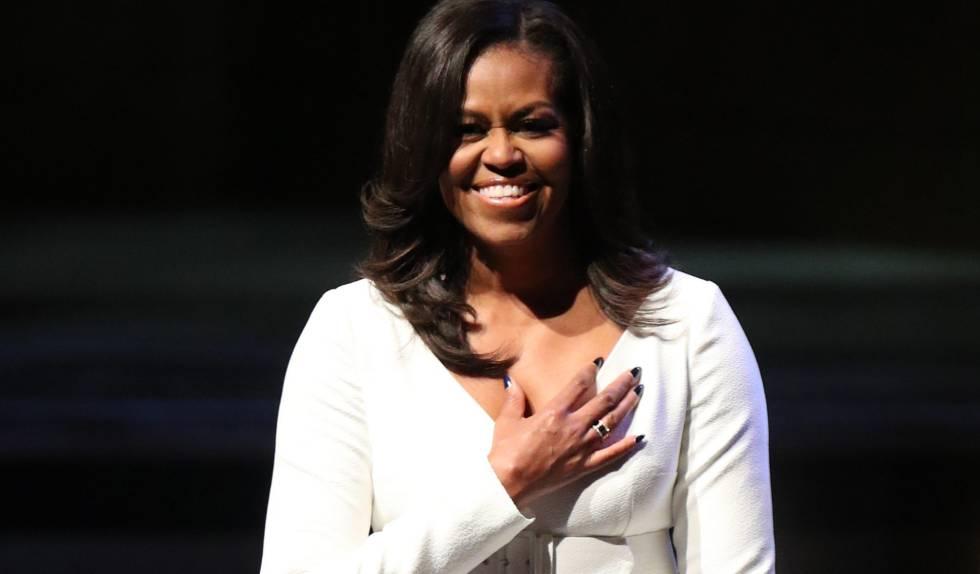 Michelle Obama rompe el récord de 'Cincuenta sombras de Grey'