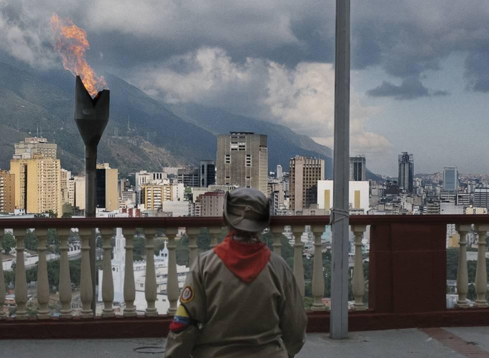 Caracas, la ciudad herida