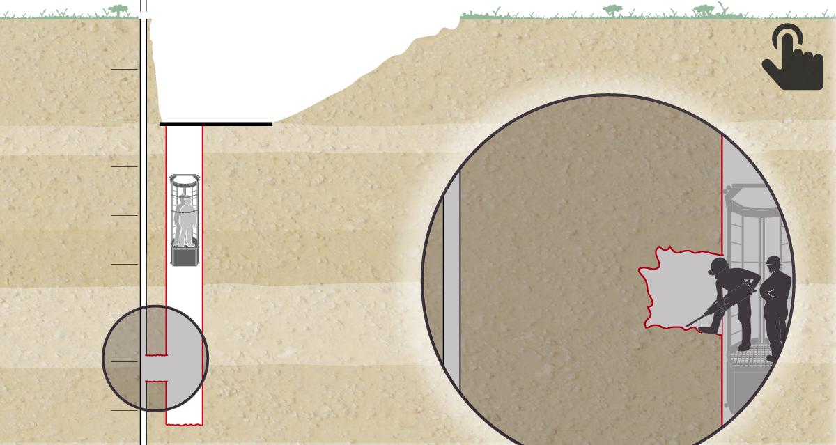 Finalizado el túnel vertical que llevará a los rescatadores hasta Julen