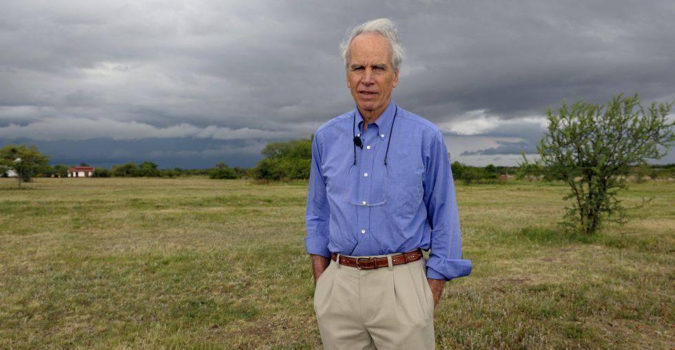 Douglas Tompkins, fotografiado en sus tierras en 2009.