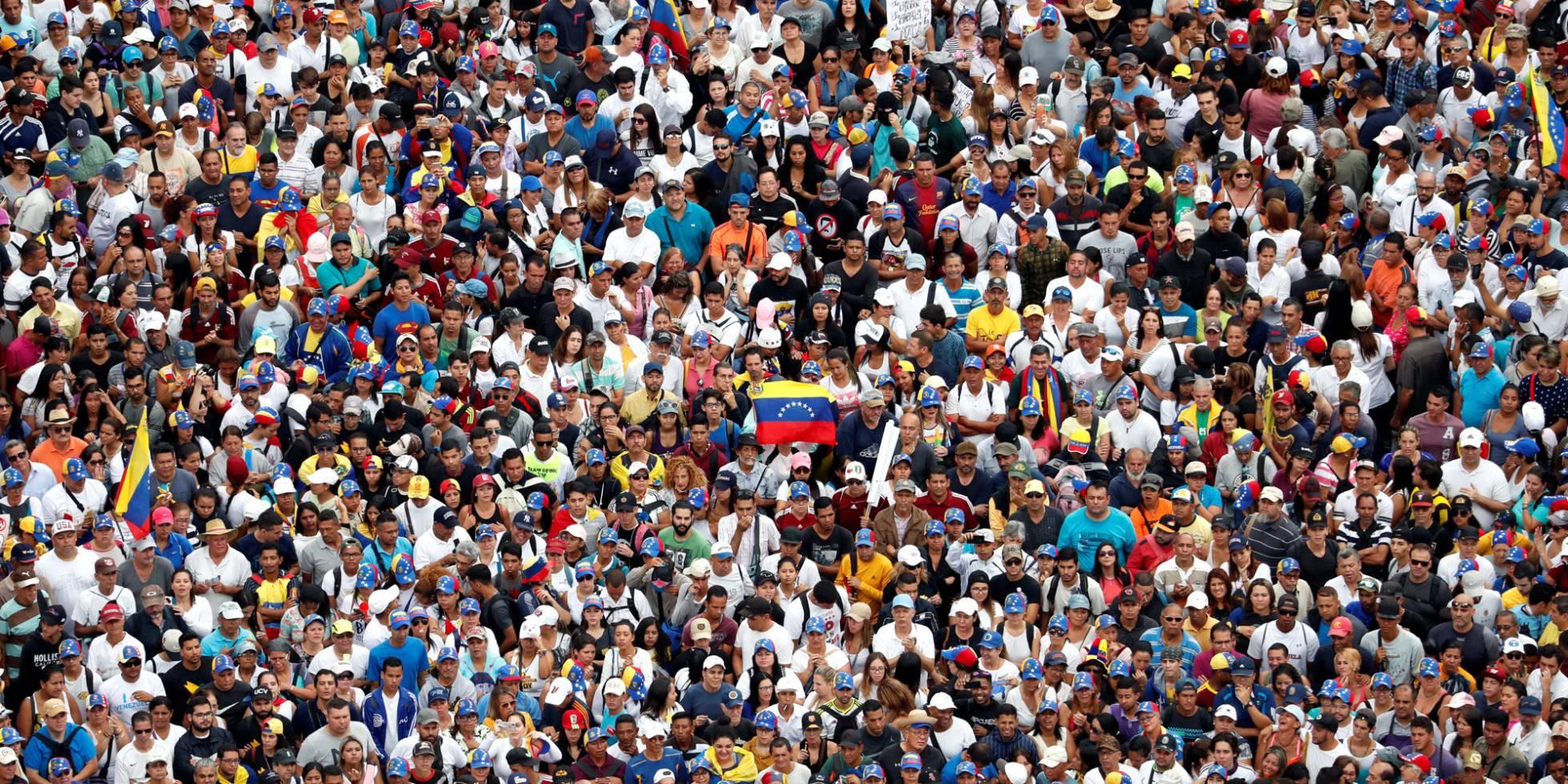 Resultado de imagen para venezolanos marcha 2019