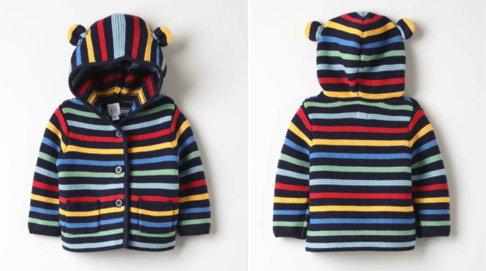 57c8ee7c8aa Rebajas 2019  las mejores ofertas en ropa de abrigo para bebés y niños  ampliar foto. Chaqueta GAP para niño ...