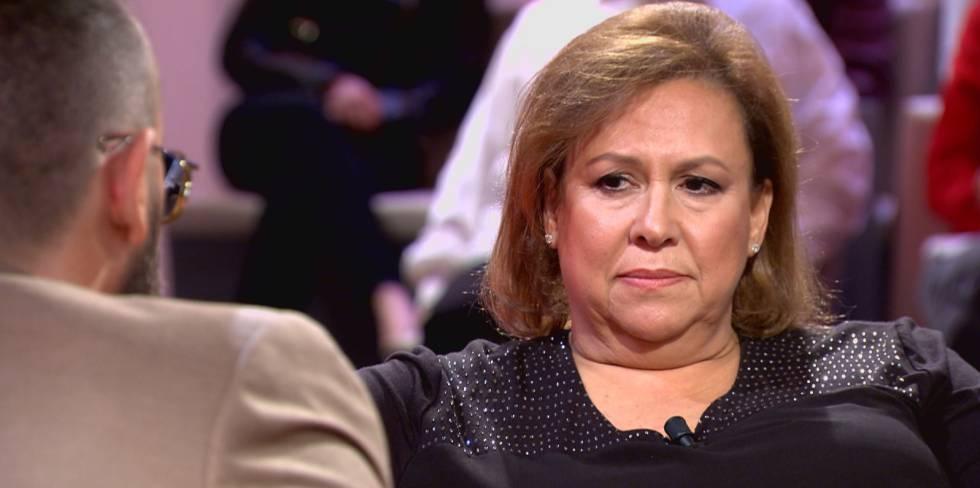 María Isabel, durante una entrevista con Chester, el pasado domingo.