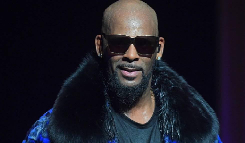 R. Kelly, durante un concierto en 2016.