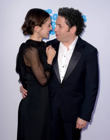 Maria Valverde y Gustavo Dudamel, en Los Ángeles el pasado septiembre.