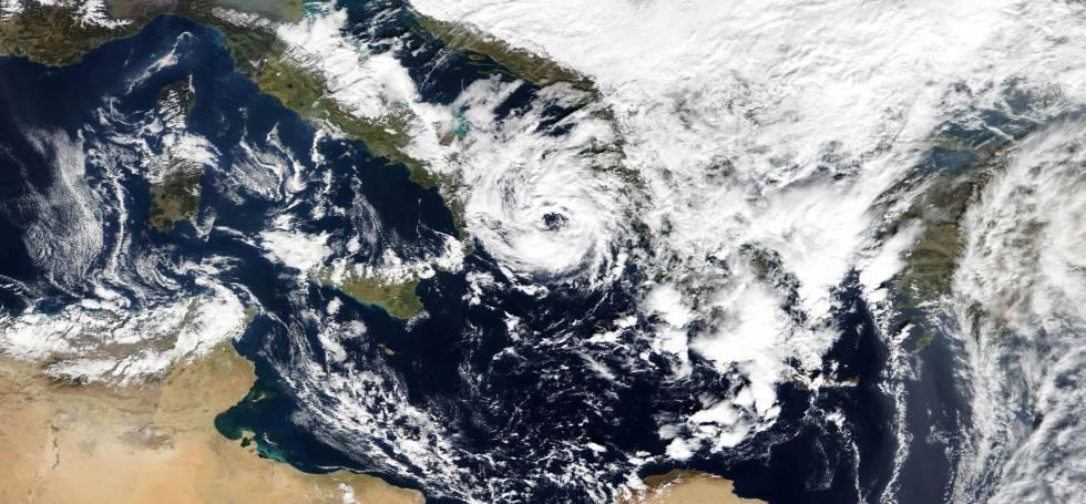 Así serán los 'medicanes', los huracanes del Mediterráneo