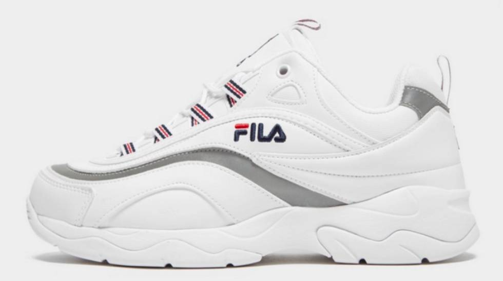 26ef738a6 HOMBRE. Fila Ray. Las zapatillas blancas no pasan de moda  modelos a buen  precio para esta primavera