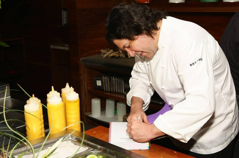 Gastón Acurio, en su restaurante.