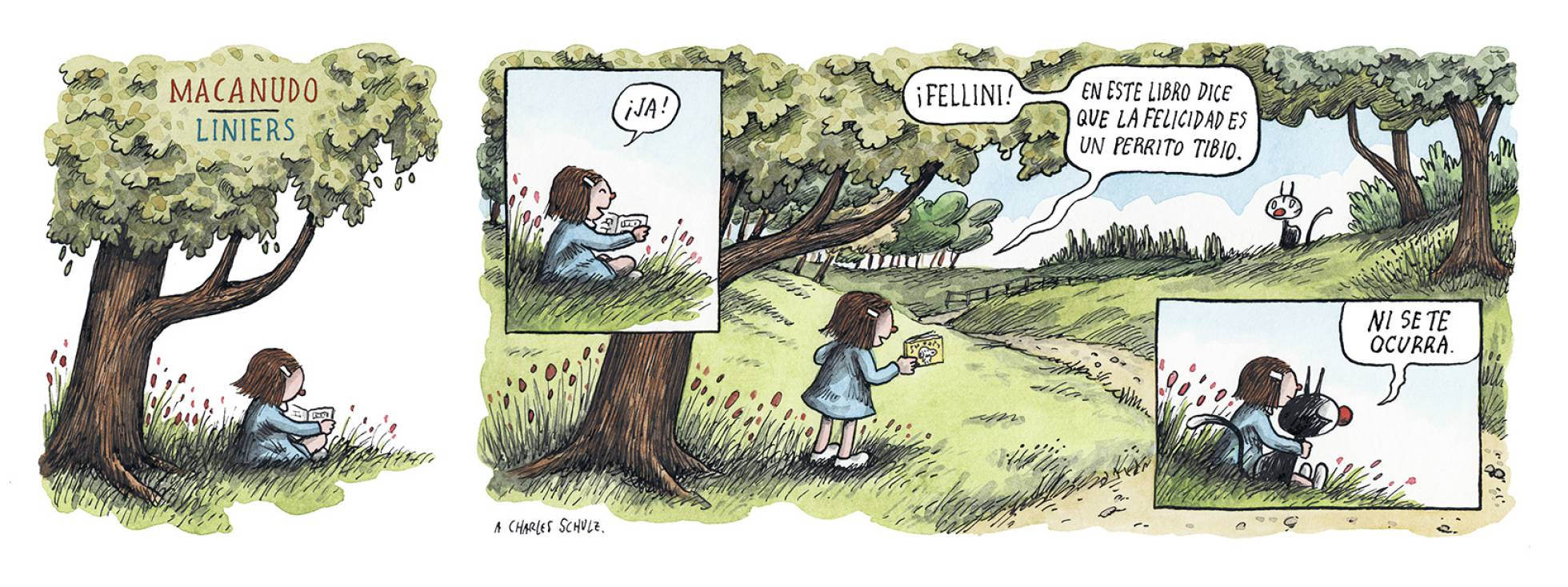 Liniers, en El País, 10/02/2019