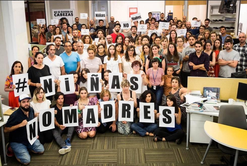 Resultado de imagen para caso de una niña de 11 años forzada a dar a luz conmociona a la Argentina