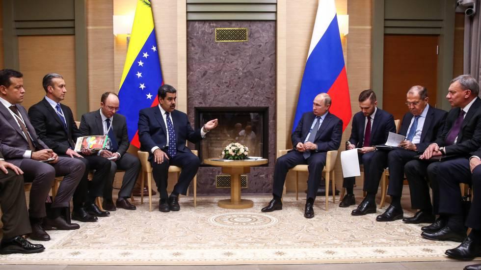 Nicolás Maduro, el 5 de diciembre pasado, en su última visita a Moscú para reunirse con Vladimir Putin.