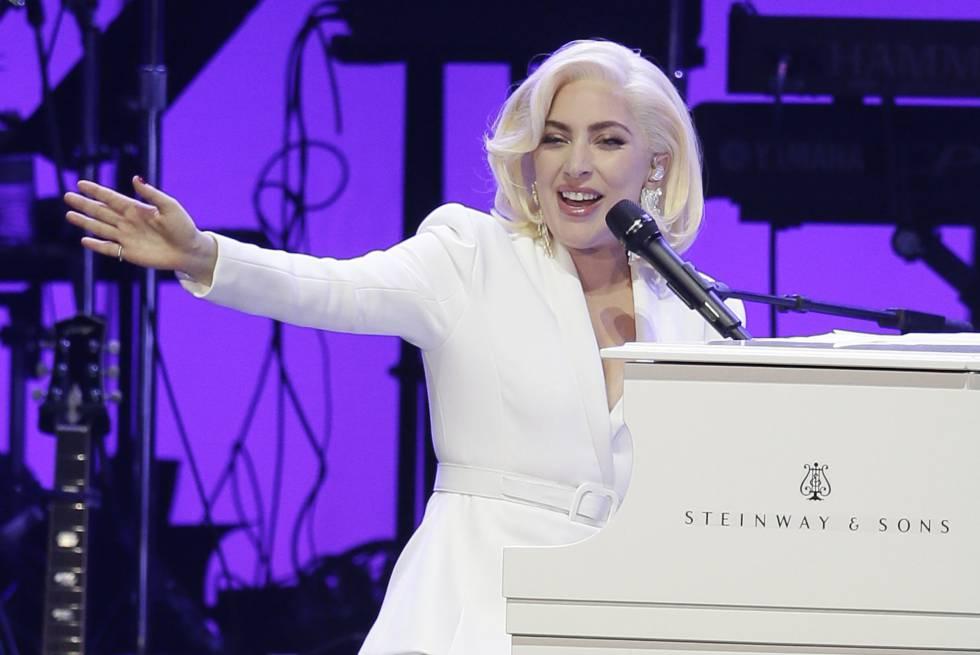Lady Gaga, durante una presentación en 2017.