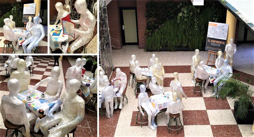 """Producciones de estudiantes de 2º y 3º de ESO. Proyecto """"El continental. Un restaurante multicultural'"""