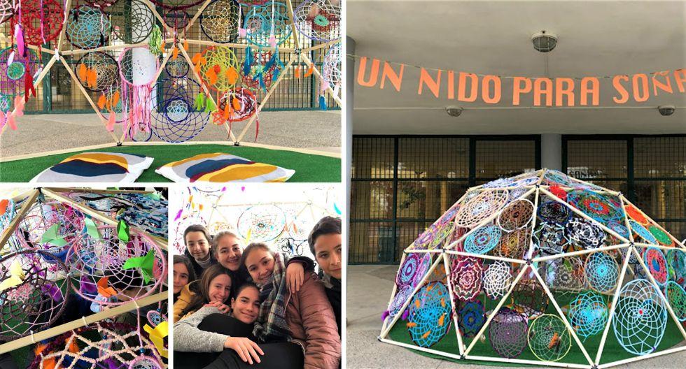 """Creaciones de estudiantes de 2º y 3º ESO y 1º Bachillerato. Proyecto """"Un nido para soñar''"""