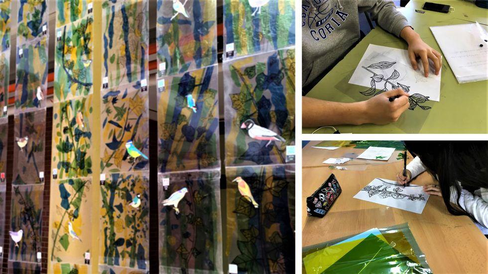 """Producciones de estudiantes de 2º de ESO. Proyecto """"Sonidos en el bosque''"""