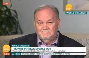 Thomas Markle, en una entrevista el pasado junio.
