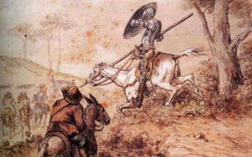 Ilustração de Gustave Dourei para 'O Quijote'.