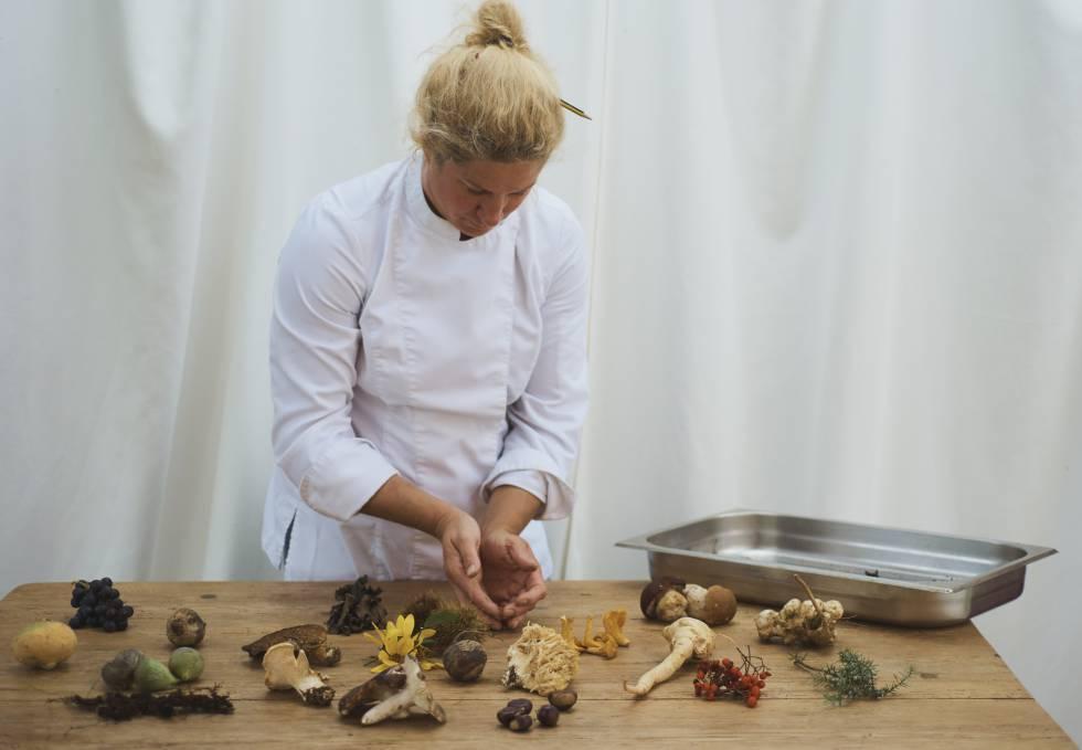 La cocinera Ana Ros.