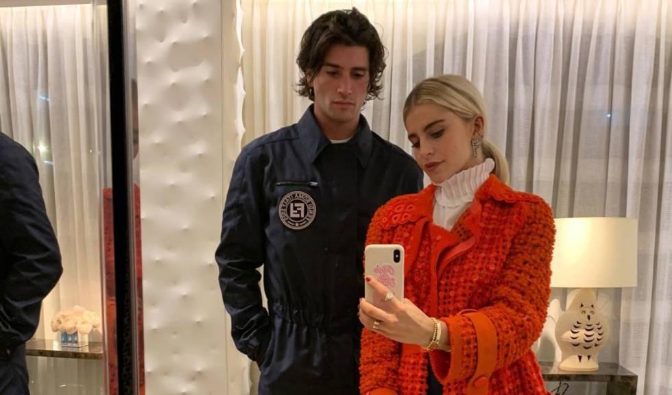 Los 'influencers' Marc Forné y Caroline Daur, en Nueva York.