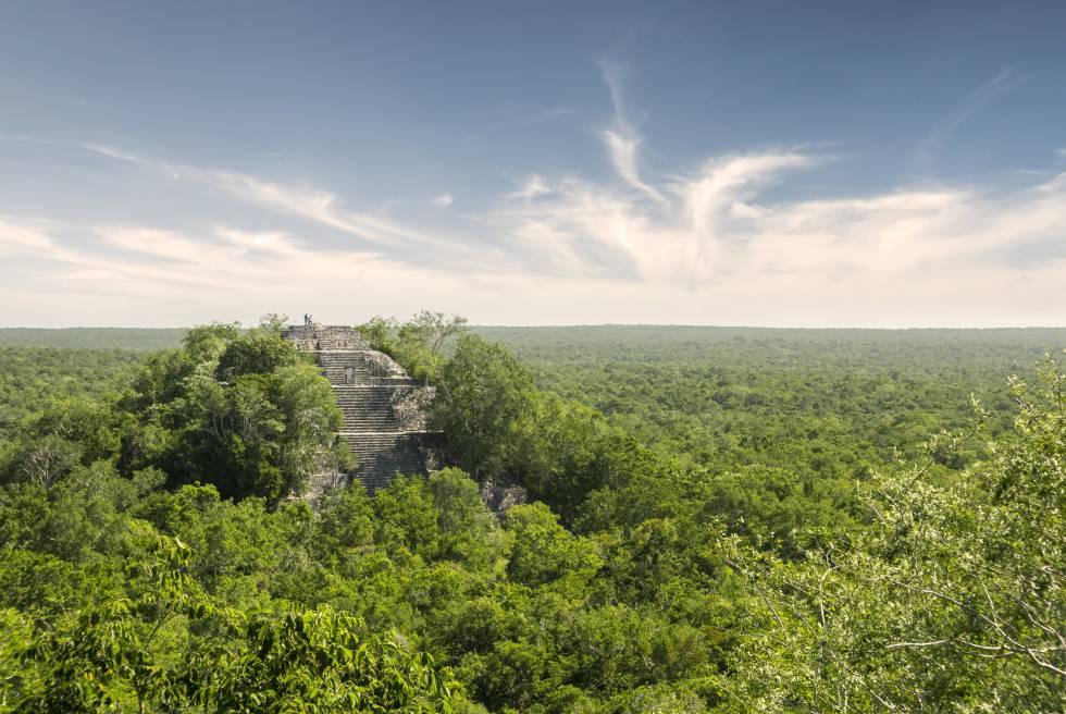 Calakmul, en el Estado mexicano de Campeche (Yucatán).