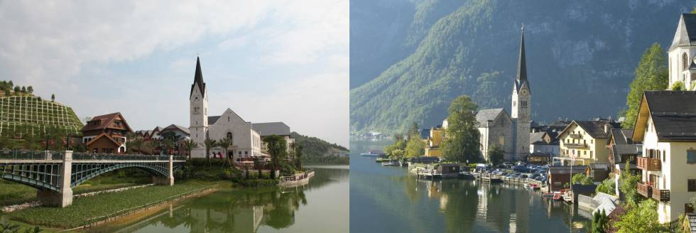 ciudades copiadas china