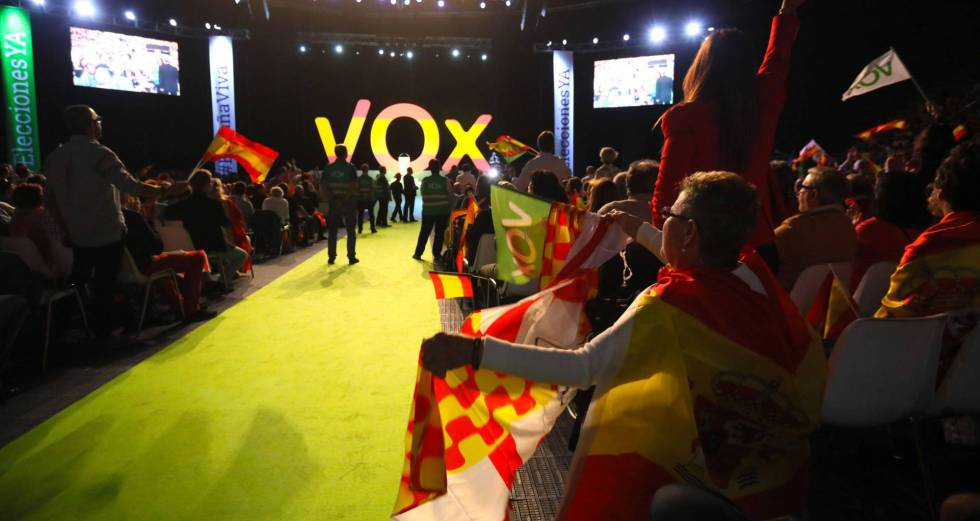 A far-right party named Vox has emerged on the Spanish political scene.