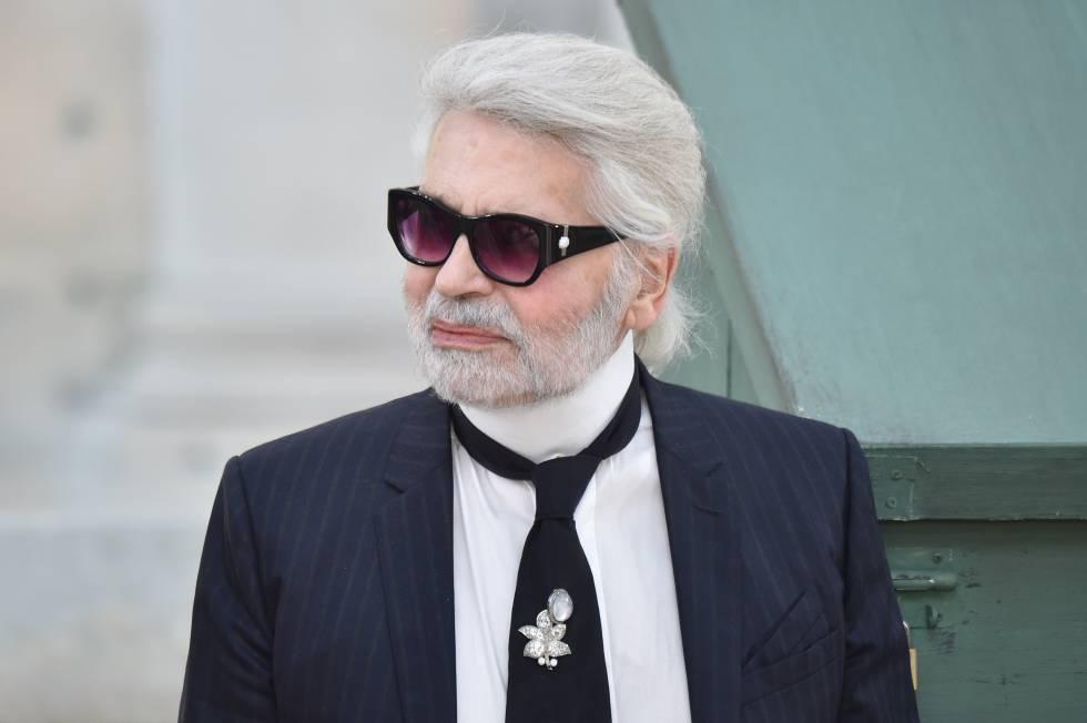 c46d2338184 Por qué Karl Lagerfeld no se quitó las gafas de sol en 51 años ...