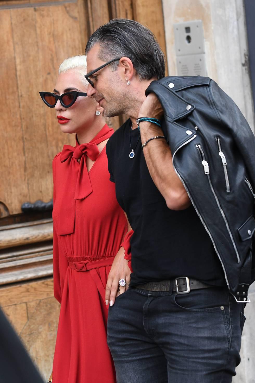 Lady Gaga y Christian Carino el pasado agosto en París.