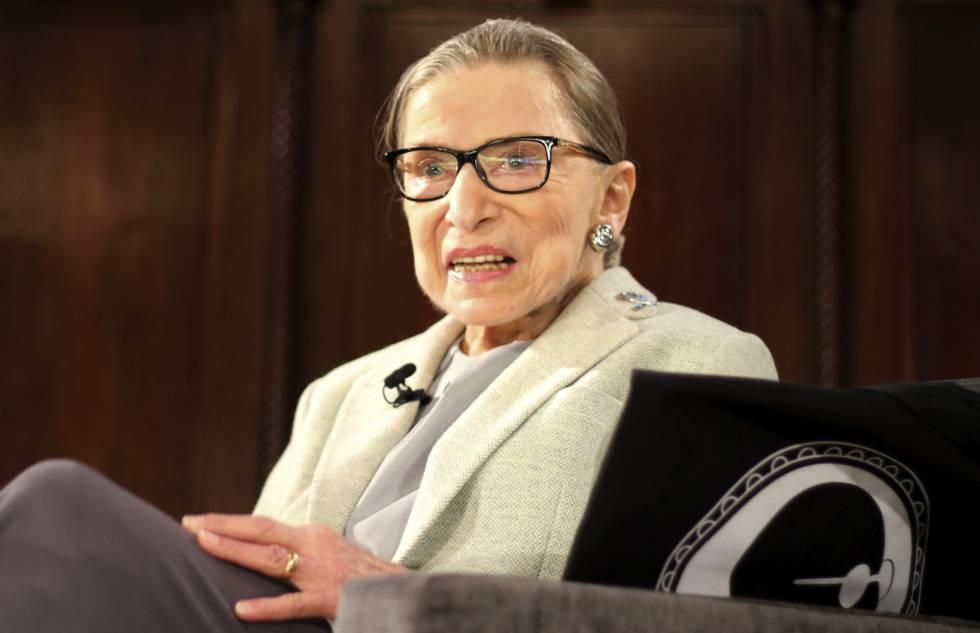 Ruth Bader Ginsburg, en diciembre en Nueva York.