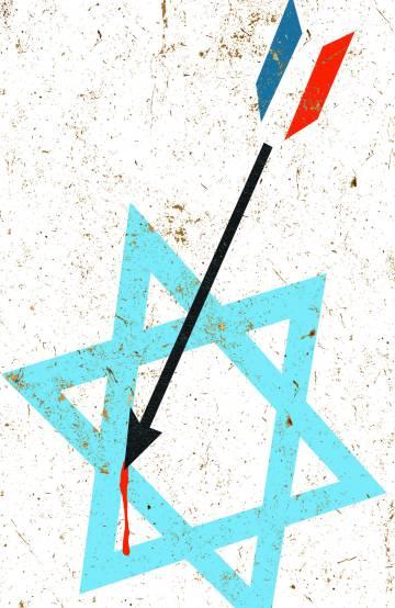 El antisemitismo en Francia