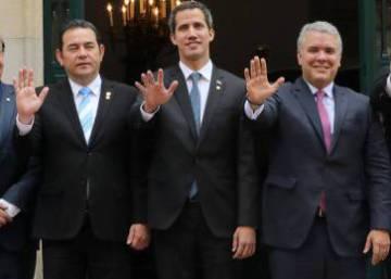 El Grupo de Lima rechaza una acción militar como solución