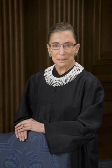 La abogada Ruth Bader Ginsburg.