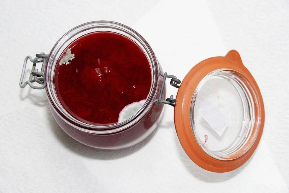 Resultado de imagen de mermelada con moho