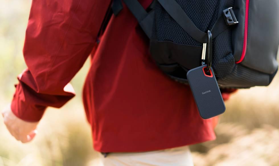 El Sandisk Extreme Portable de 250 GB es el modelo elegido como el mejor disco SSD por menos de 150 euros.