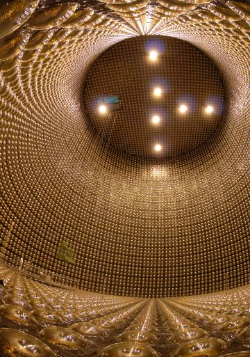 Interior de Super-K.