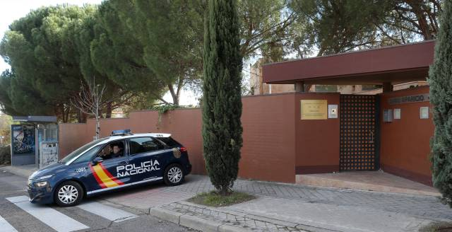 The North Korean embassy in Madrid. cbfc75ec40a
